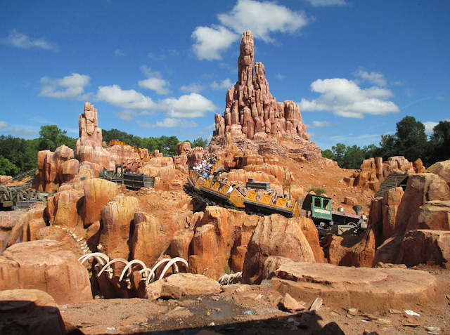 Big Thunder Mountain no Magic Kingdom em Orlando