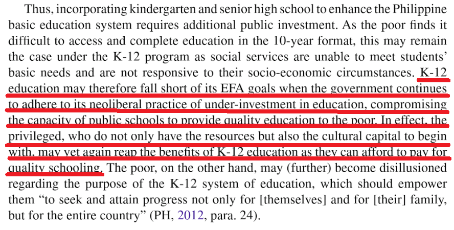 k to 12 curriculum in the philippine s case study research Philippines case study unedited working paper 1 feedback on the research philippines for up to twice as many people as the formal sector.