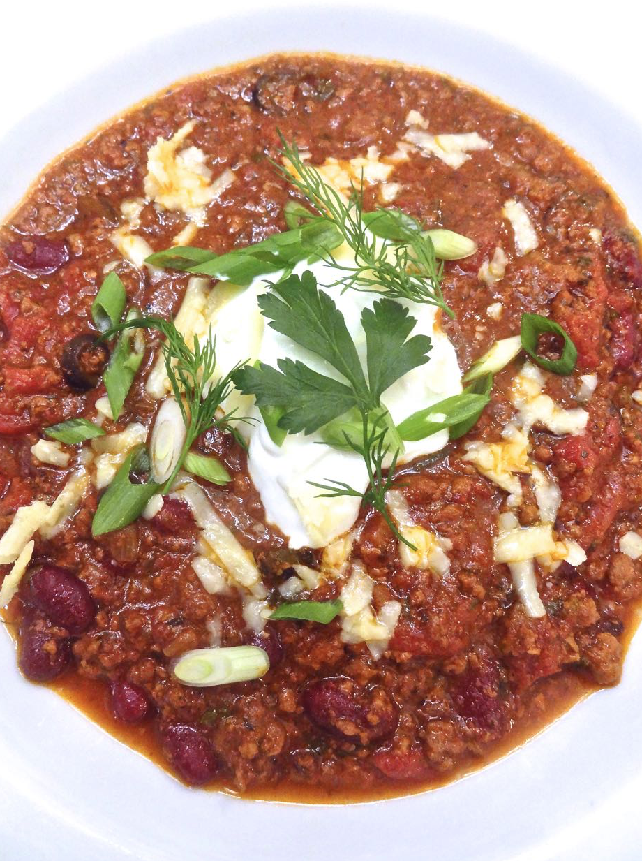 chili guys Since it's getting cooler outside,maybe we should dicuss man food,like chiliso how do you like your chili,lame,mild,medium,medium hot,hot,super hot,totally meltdown hot.