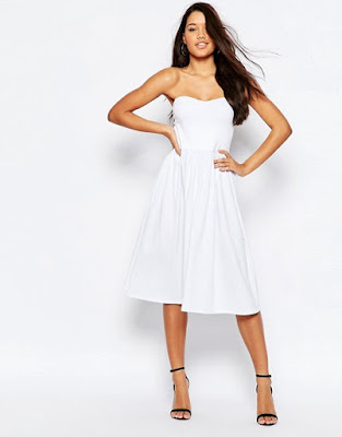 opciones de Vestidos de Blancos de Noche