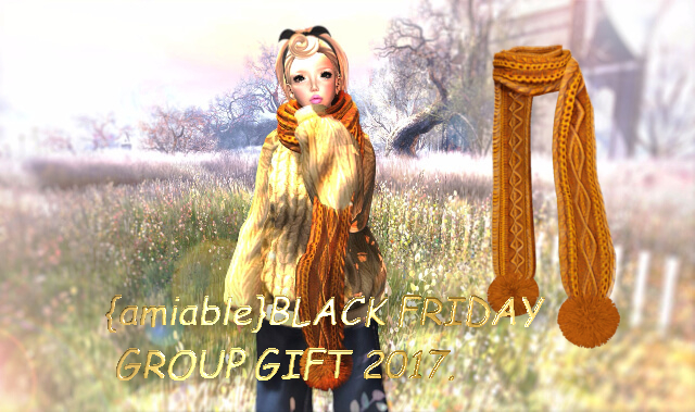 {amiable}BLACK FRIDAY SPECIAL Group Gift@the main store.
