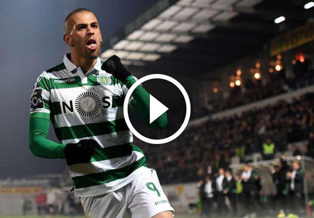 Tout les buts (57) d'ISLAM SLIMANI avec le Sporting Lisbonne