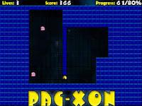Help #Pacman build his blocks in Pac-Xon! #ArcadeGames #RetroGames