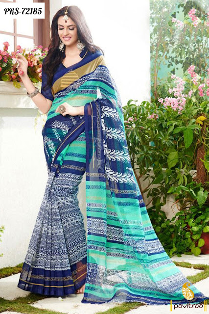 Lowest price designer casual sarees for college girls online