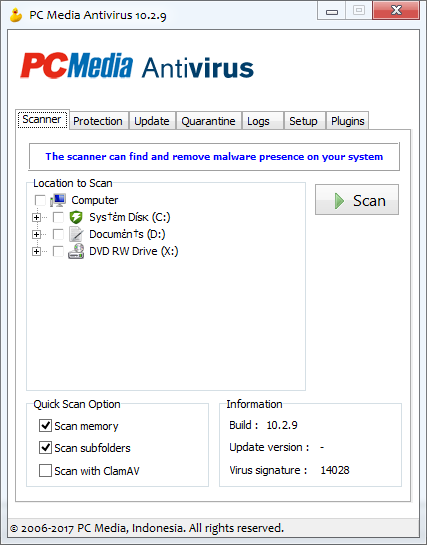 PC Media Antivirus 10.2.9 Full Download