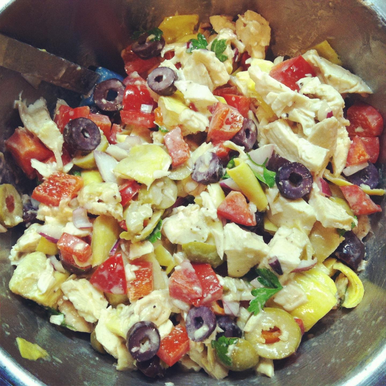 Mediterranean Style Chicken Recipe: A Squared: In My Lunchbox This Week: Mediterranean-Style