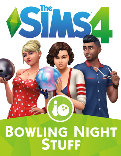 โหลดเกมส์ The Sims 4 Bowling Night Stuff