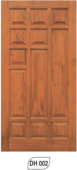 Burma teak door of royal wooden doors