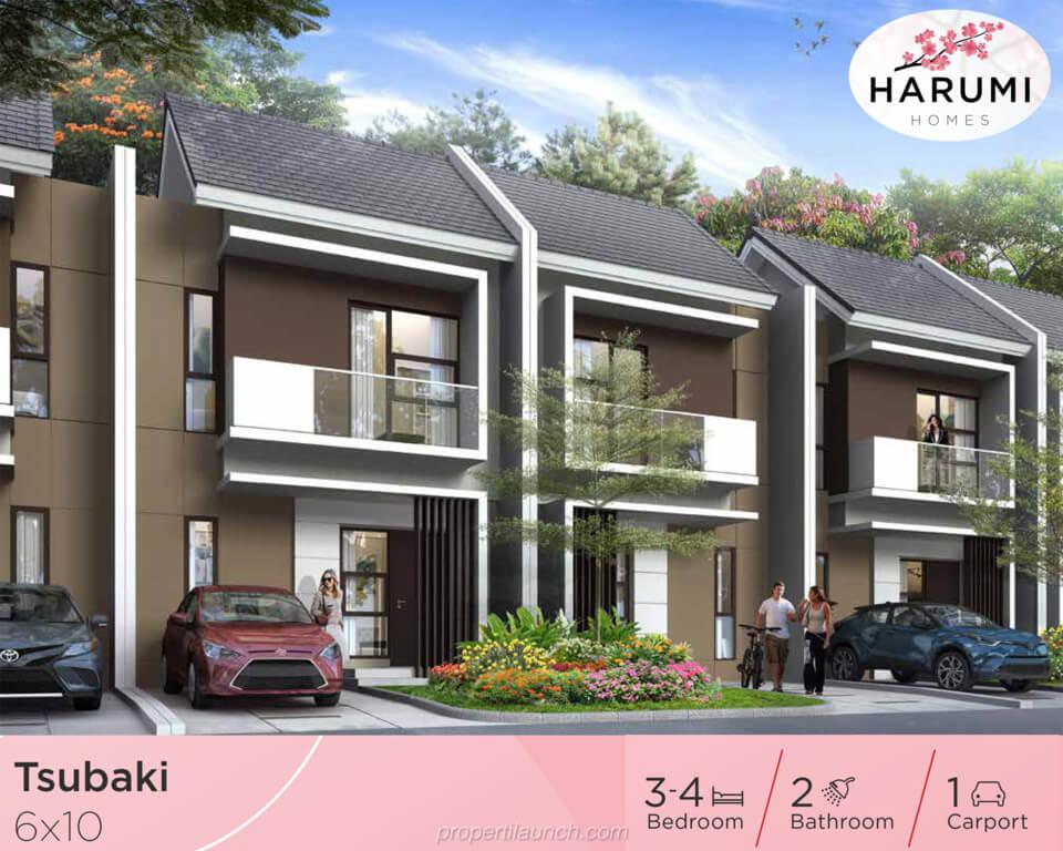 Rumah Harumi Homes Tipe Tsubaki