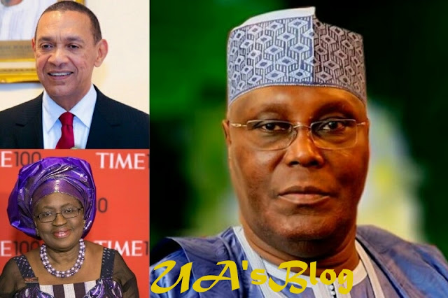 Choose Okonjo Iweala Or Ben Bruce As Running Mate — PDP Chieftain Advises Atiku