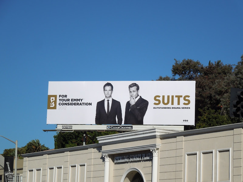 Suits Emmy 2012 billboard