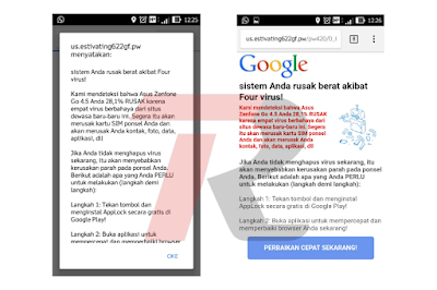 Tips Menghilangkan Virus di android tsnpa Aplikasi