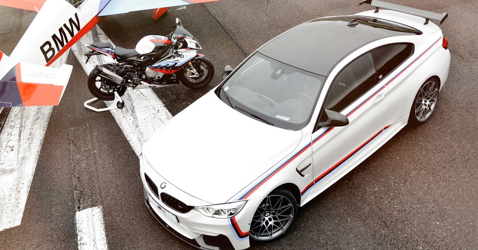 limited bmw m4 magny cours edition comes with a matching superbike and wristwatch. Black Bedroom Furniture Sets. Home Design Ideas