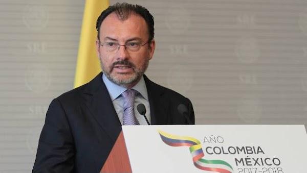 """Videgaray responde a Maduro: Tu eres un cobarde, Peña es """"Valiente"""""""