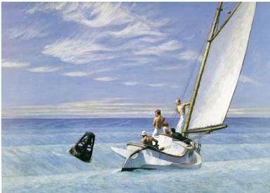 Tranh Eves Hopper, Tranh sơn dầu