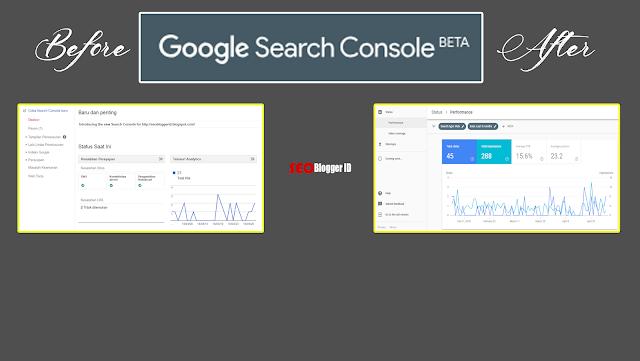 Tampilan Baru Google Search Console