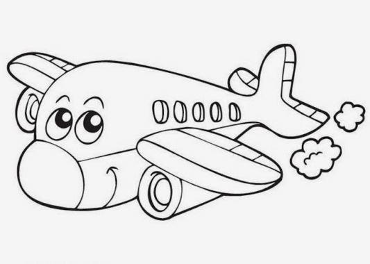 Contoh Gambar Untuk Mewarnai Anak Tk
