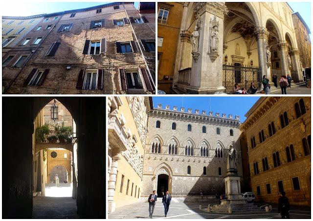 ruta por el centro de Siena