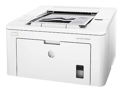 Print professional person character prints upwards to  HP Laserjet Pro M203dw Driver Downloads
