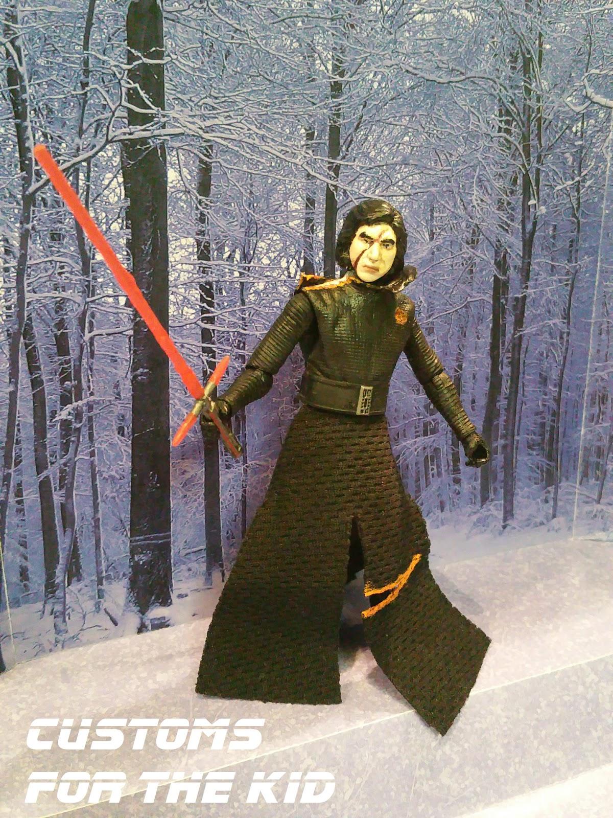 Star Wars Customs For The Kid Battle Damaged Kylo Ren