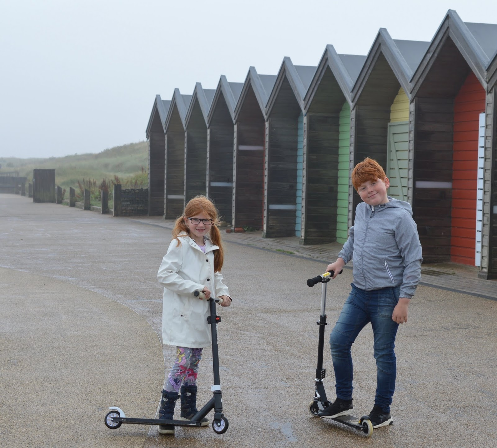 Coastal Adventures in Northumberland with Parkdean Resorts - scooter blyth beach