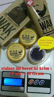 Jual Wak Doyok Original di Surabaya Cream Menumbuhkan Rambut, Alis, Kumis, Jambang, Jenggot, dan Bulu Dada.