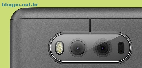 Estabilização ótica (OIS) da câmera traseira do LG V20