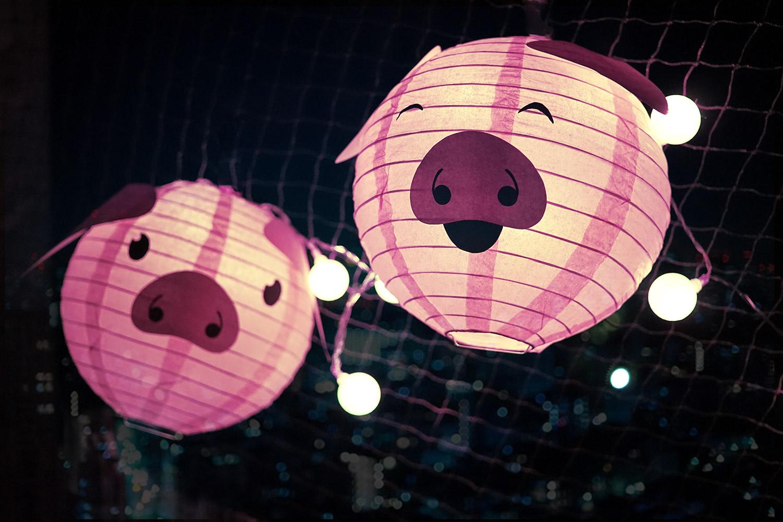 KuneCoco • DIY • LamPIGons • Laternen mit Schweinegesicht
