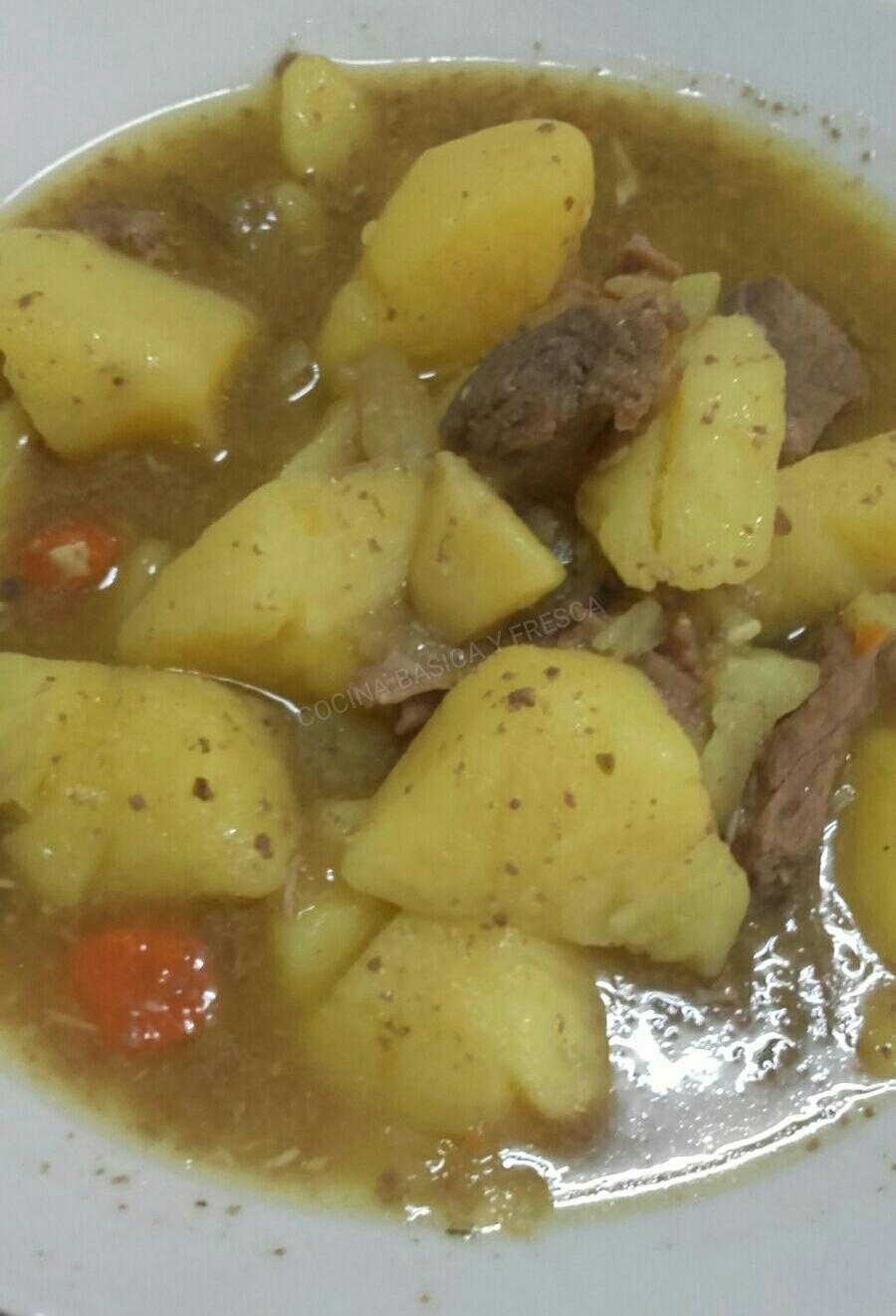 Cocina basica y fresca guiso de ternera con patatas cbf - Tiempo para cocer patatas ...
