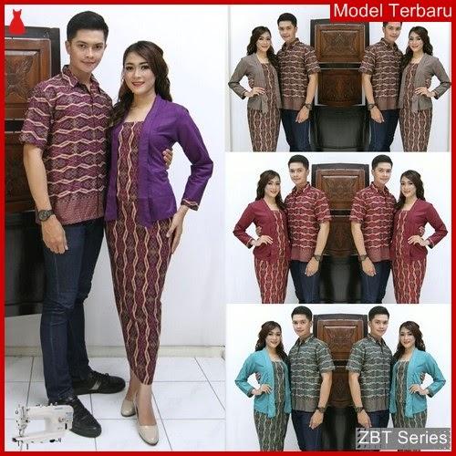 ZBT11609 Kebaya Batik Couple Zulaika Panajng Untuk BMGShop