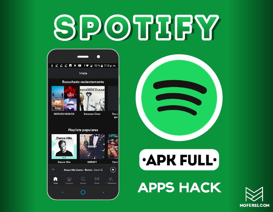 spotify mod apk 2018 mayo