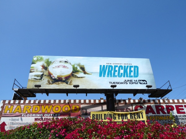Wrecked season 1 billboard