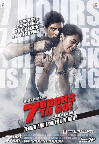 7 Hours To Go 2016 DVDRip 480p Hindi 300MB