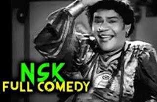 NSK Comedy | Ambikapathy Comedy Scenes | N. S. Krishnan Super Comedy Scenes | Classic Hit Comedy