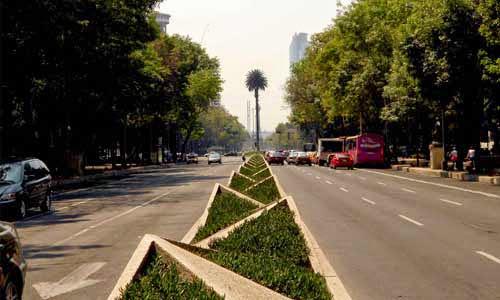Paseo de la Reforma. Ciudad de Mexico