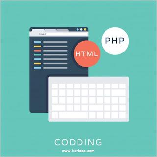 Pengertian Blog dan Website Serta perbedaannya - berdasarkan bahasa pemrograman (Coding)