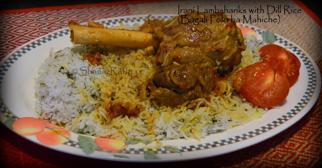 Iranian Lamb Shanks with Dill Rice