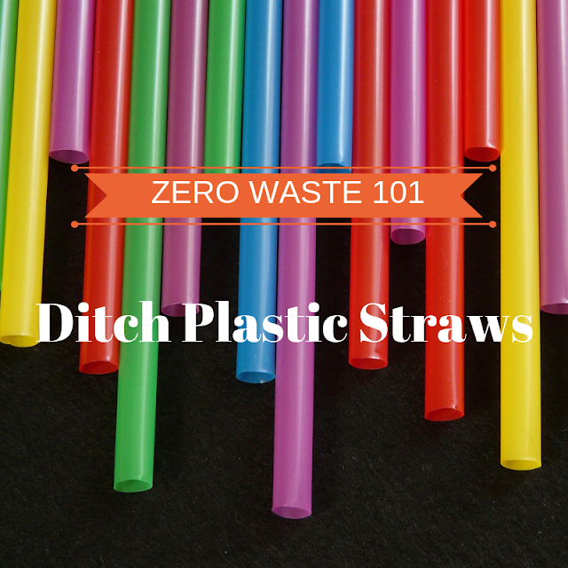 Zero Waste 101: Ditch Plastic Straws, Use Reusable Straws