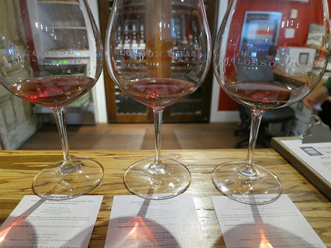 Closson Chase Pinot Noir Lineup