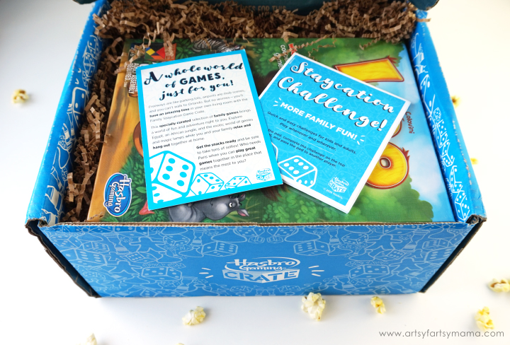 Plan a Family Game Night with Hasbro Gaming Crate #HasbroGamingCrate