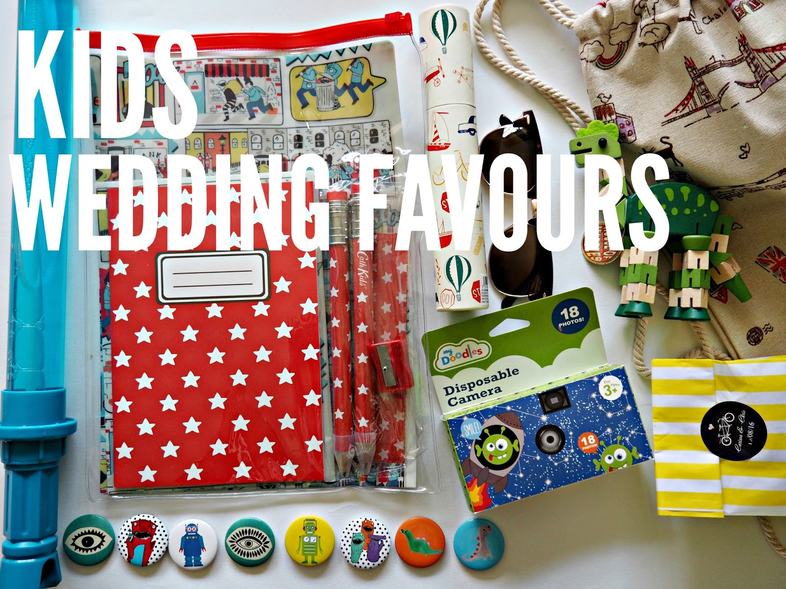Kids Wedding Favours | Little Likely Lads