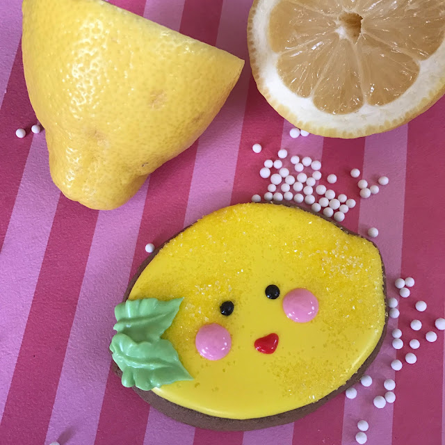 lemon gingerbread cookie recipe