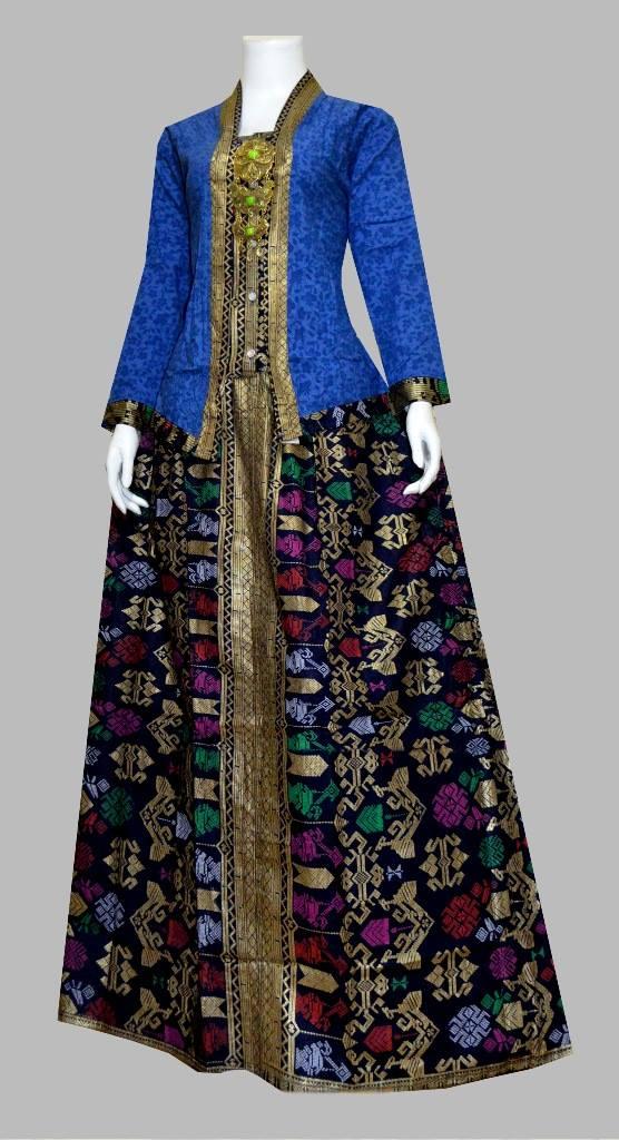 Model Baju Gamis Batik Terbaru - Batik Bagoes Solo