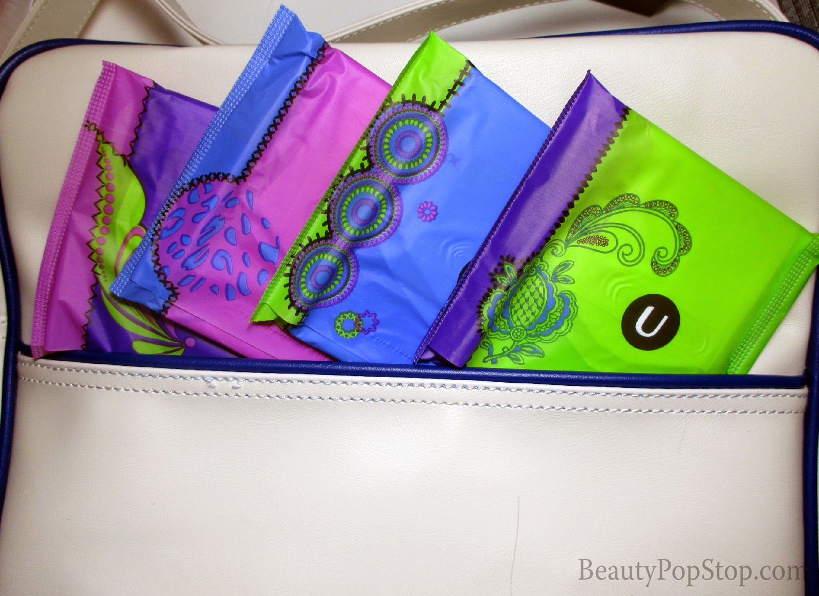 u by kotex cleanwater pads with 3d capture core travel essentials free samples