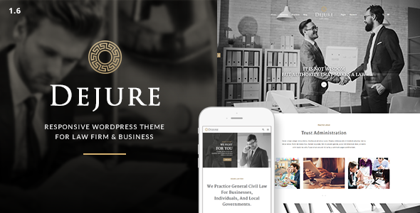 DEJURE V1.5.10 – RESPONSIVE WP THEME FOR LAW FIRM & BUSINESS