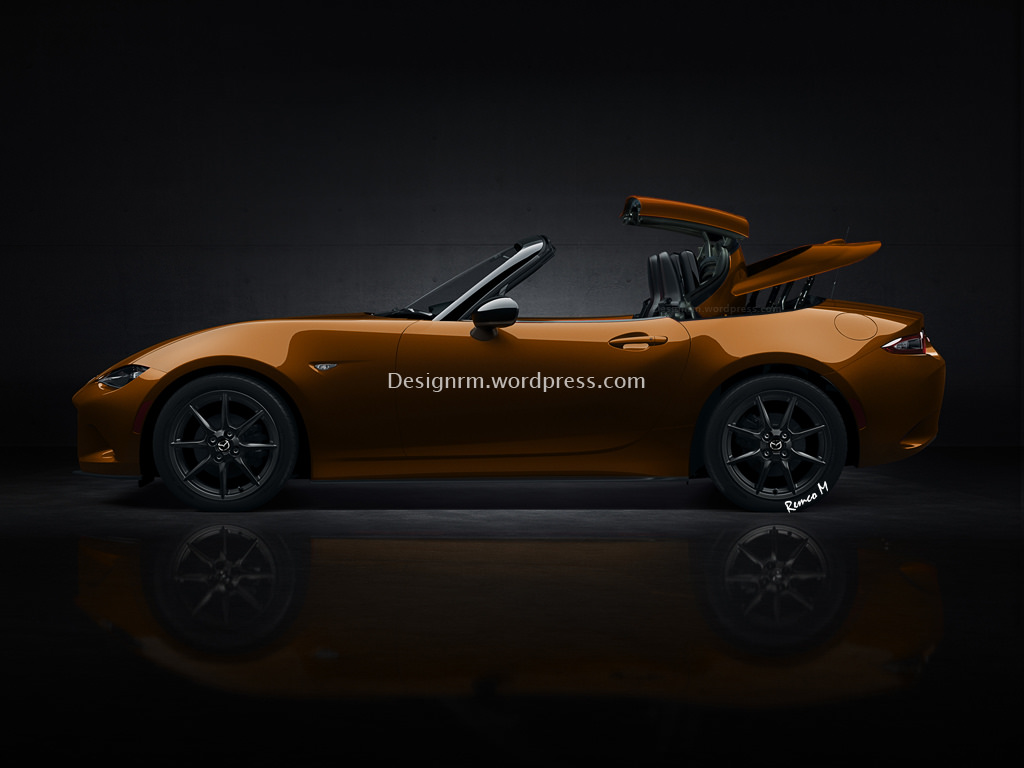 Do You Want To See A 2016 Mazda Mx 5 With Folding Metal Top Carscoops