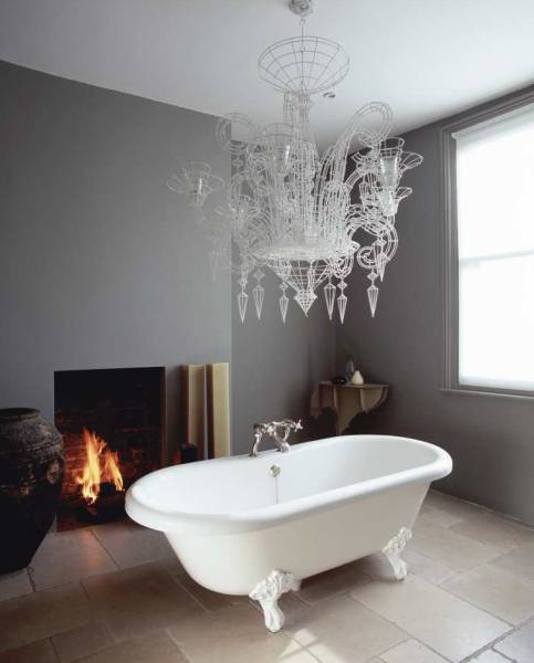 Outstanding Modern Country Style Designer Abigail Aherns Bathroom Two Largest Home Design Picture Inspirations Pitcheantrous