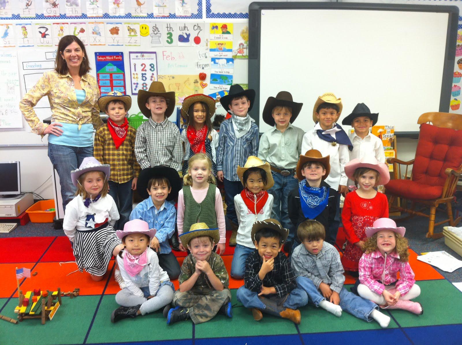 GoTexanDay2 - Kindergarten Picture Day