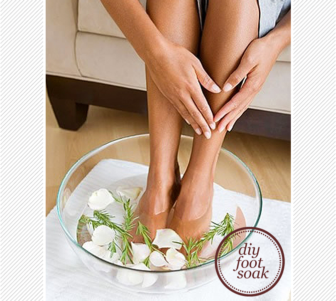 How to make your own foot soak at home? You can make your own foot soak at home by using all natural ingredients that are beneficial for your feet.  Here are 5 recipes for foot baths that you can try making at home to help keep your feet healthy and clean.