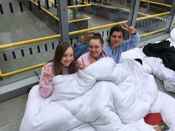 Harry Styles fans camp out four days early to get at front of Manchester gig